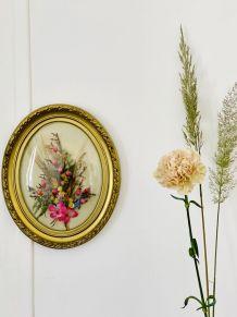 Le cadre fleuri
