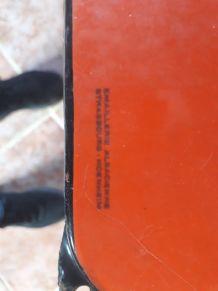 Plaque émaillée très rare 97.5 x 48 cm