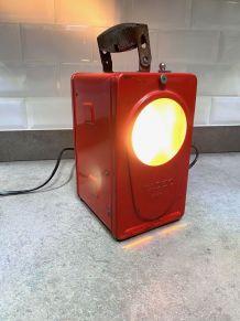 Lampe - lanterne de cheminot
