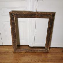 Cadre miroir époque Restauration feuille d'or