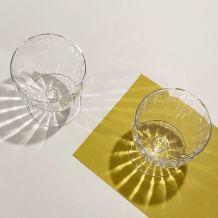 Lot de 6 verres à vin cristal