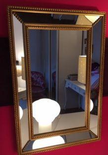 Miroir à parcloses italien  60cm x40cm