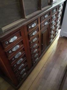 Splendide ancien meuble de métier