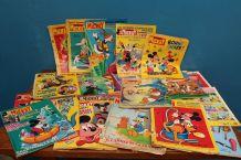 gros lot de magasine le journal de Mickey année 70-80