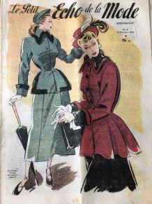 Le Petit Echo de la Mode - 5 exemplaires automne 1948