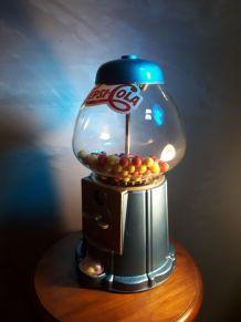 distributeur a bonbon chewing gum ,  bonbonniere  75s  fonct