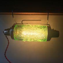 ANCIENNE LAMPE APPLIQUE ART-DECO