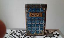 Boîte  à  café  metal