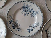 6 assiettes plates Saint AMAND & HAMAGE Acacia