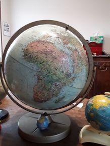 Globe terrestre de marque Replogle Globes