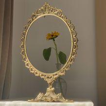 Vanity mirror frame , Napoleon III style