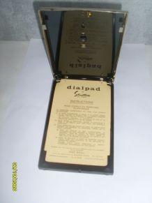Ancien Répertoire Téléphonique A Cadran Téléphone Vintage St