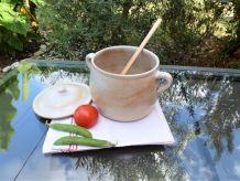 Soupière de table en grés céramique, soupière céramique.
