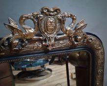 grand mirior noir et or napoleon III