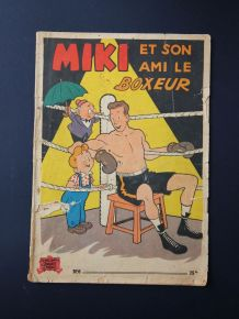 Miki et son ami le boxeur n°6 Edition originale.