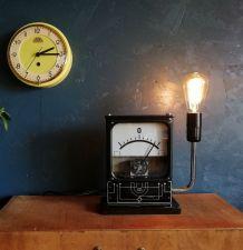 "Lampe vintage, lampe industrielle - ""Ohms"""