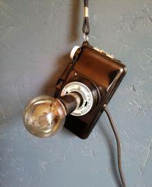 """Applique vintage, lampe murale """"La Bonne Prise"""""""