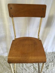 Chaise haute d'atelier – années 50