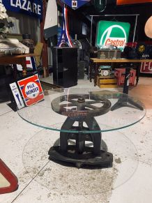 Presse industrielle Table basse