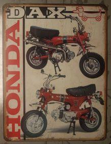 Plaque métal Honda Dax