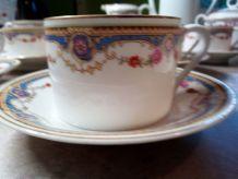 Anciens Services à dessert et à café porcelaine UNION K