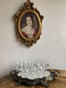 Set de 10 verres Cristal d'Arques à liqueur 70/80
