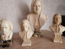 Collection bustes de JS BACH