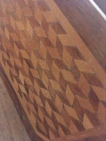 Porte lettre ou range courrier indien en bois.