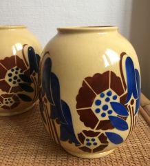 Paire de vases Art Déco – années 30