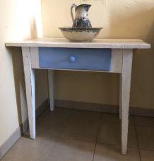 Table de ferme ancienne de style Shabby