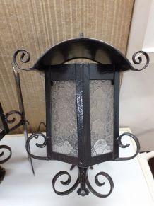 2 lampes extérieur à fixer