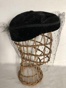 Tête à chapeau en rotin, marotte de modiste