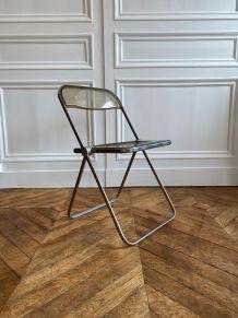 Lot de 4 chaises de giancarlo piretti pour plia castelli