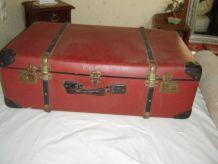 valise malle de voyage rétro