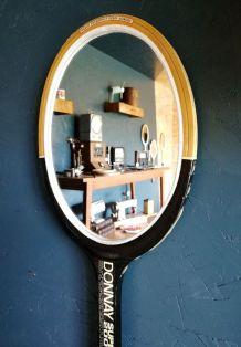 "Miroir, raquette miroir, raquette tennis - ""Donnay"""