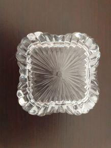 Boîte carrée en cristal