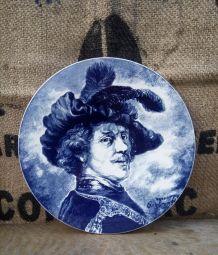 Jolie assiette décorative - Faïence de Delft