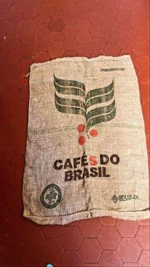 Sac en toile de jute « Cafés do Brasil »