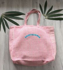 grand sac shopping toile