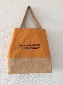 grand sac shopping toile neuf