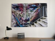 Tableau. Grande photo « Street Art » sur plexiglass. 120X80.