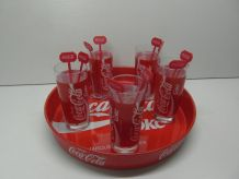 Service verres Coca Cola