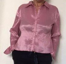 chemise plissée taille 40/42