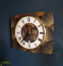 """Horloge vintage, pendule murale """"Japy"""""""