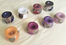 Cendriers anti-fumée en ceramique, divers couleurs