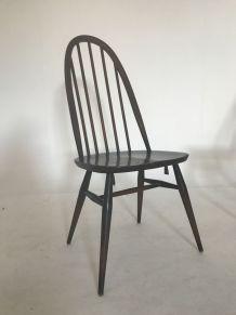 Lot de 4 chaises Ercol estampillées