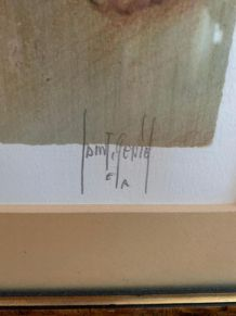 Tableau « lithographie »