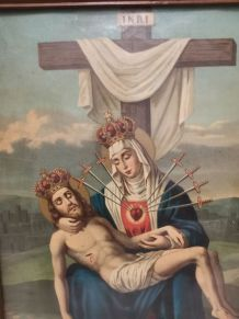 Piéta Vierge des Sept Douleurs, années 50.