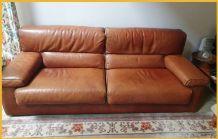 Canapé cuir bon état