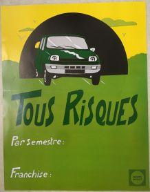 4 Affiches publicitaires du Groupe Drouot  – années 70